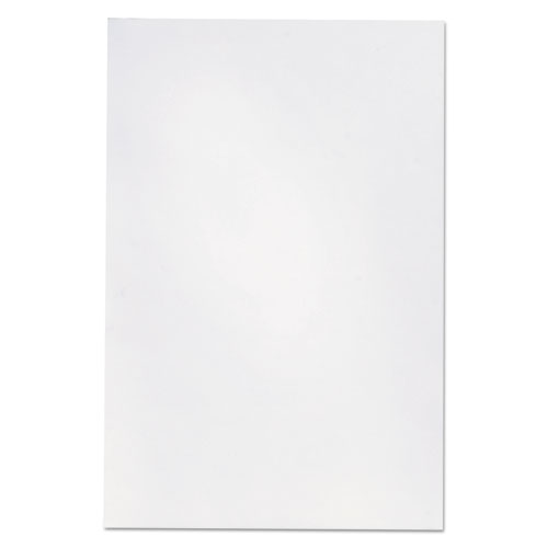 Loose White Memo Sheets, 4 x 6, Unruled, Plain White, 200/Pack