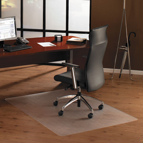 Cleartex Ultimat Polycarbonate Chair Mat For Hard Floors, 48 X 53, Clear
