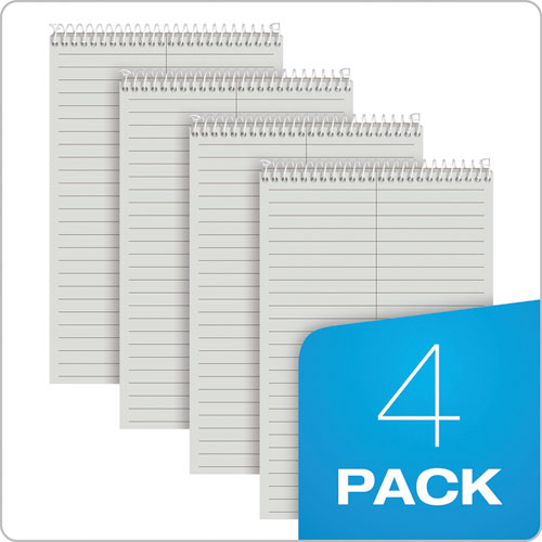 Prism Steno Books Gregg 6 X 9 Gray 80 Sheets 4 Pads