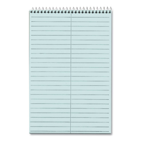 Prism Steno Books, Gregg Rule, 6 x 9, Blue, 80 Sheets, 4/Pack   by Plexsupply