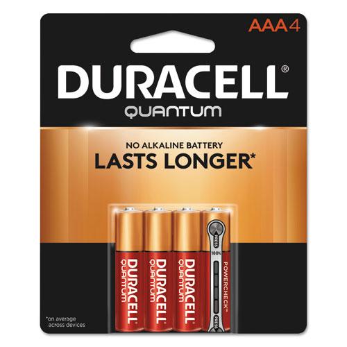 Duracell® Quantum Alkaline C Batteries, 72/Carton
