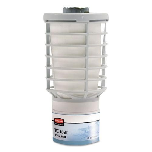Rubbermaid® Commercial TC TCell Microtrans Odor Neutralizer Refill, Polar Mist, 48 mL, 6/Carton