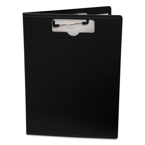 Portfolio Clipboard With Low-Profile Clip, 1/2 Capacity, 8 1/2 x 11, Black