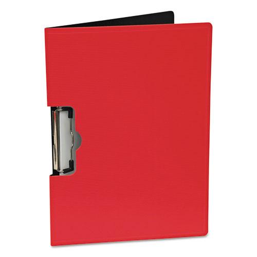 Portfolio Clipboard With Low-Profile Clip, 1/2 Capacity, 11 x 8 1/2, Red