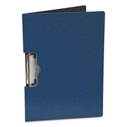 Portfolio Clipboard With Low-Profile Clip, 1/2 Capacity, 11 x 8 1/2, Blue