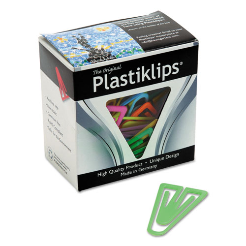 Plastiklips Paper Clips Extra Large Assorted Colors 50