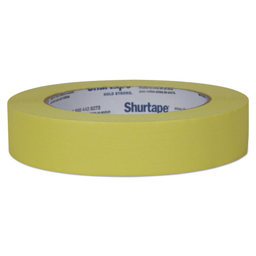 "Color Masking Tape, 3"" Core, 0.94"" x 60 yds, Yellow 