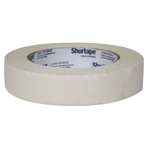 """Duck® Color Masking Tape, 3"""" Core, 0.94"""" x 60 yds, White"""