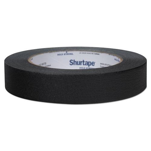 "Duck® Color Masking Tape, 3"" Core, 0.94"" x 60 yds, Black"