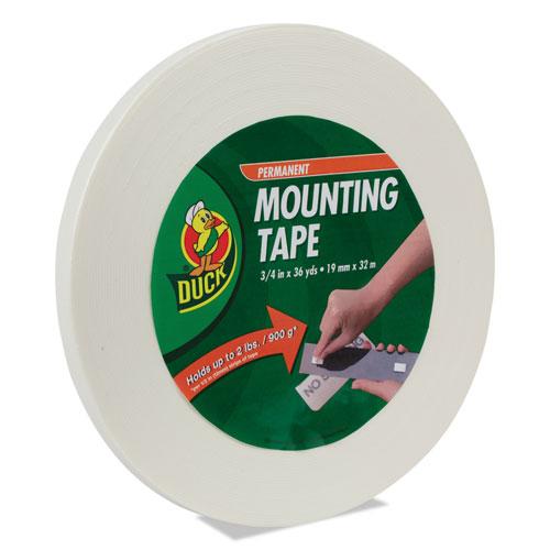 "Permanent Foam Mounting Tape, 3/4"" x 36yds | by Plexsupply"