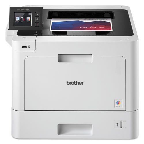 HLL8360CDW Business Color Laser Printer with Duplex Printing and Wireless Networking