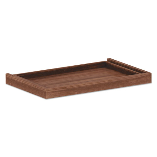 Alera Valencia II Series Center Drawer, 24.5w x 15d x 2h, Modern Walnut