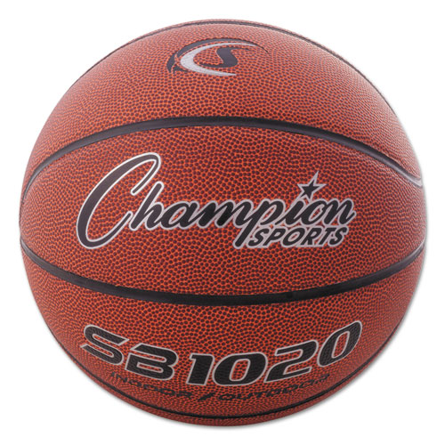 Composite Basketball, Official Size, 30, Brown