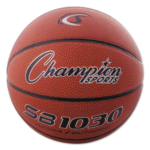 Composite Basketball, Official Intermediate, 29, Brown