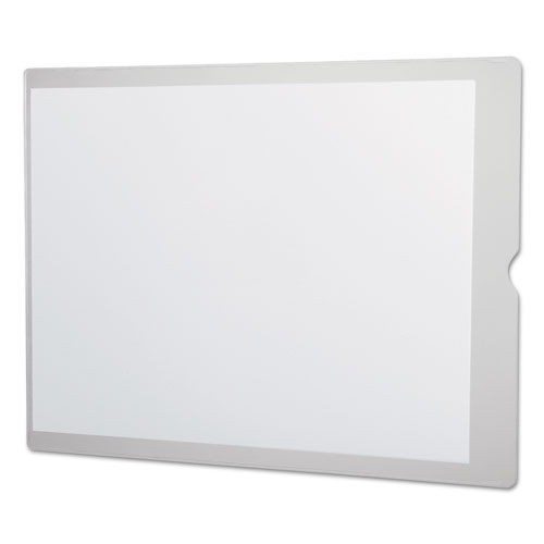 Utili-Jac Heavy-Duty Clear Plastic Envelopes, 9 x 12, 50/Box