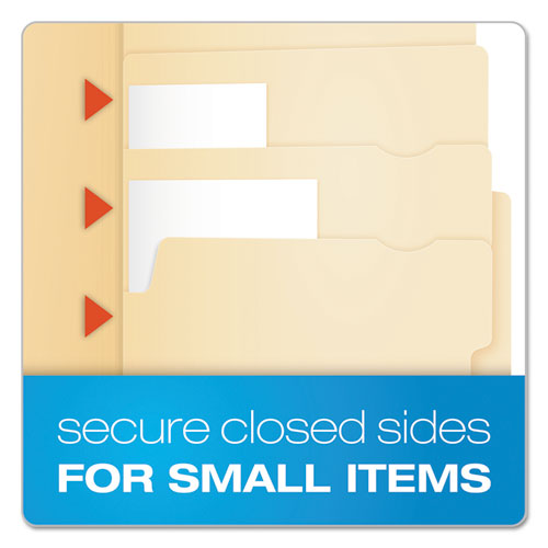 Divide It Up File Folders, 1/2-Cut Tabs, Letter Size, Manila, 24/Pack