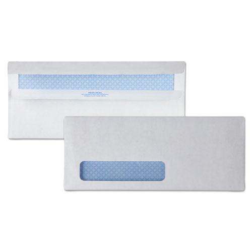 Redi-Seal Envelope, #10, Commercial Flap, Redi-Seal Closure, 4.13 x 9.5, White, 500/Box