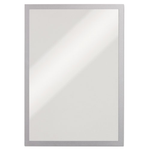 DURAFRAME Sign Holder, 11 x 17, Silver, 2/PK