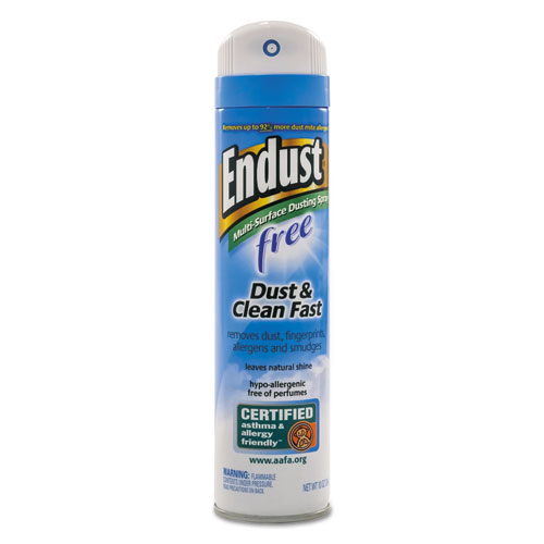 Endust Free Hypo-Allergenic Dusting and Cleaning Spray, 10 oz Aerosol