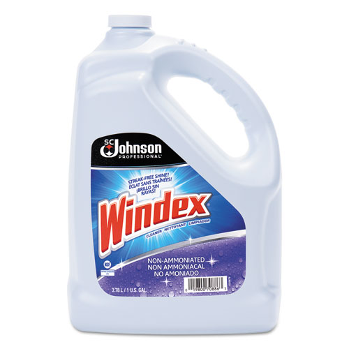 Non-Ammoniated Glass/Multi Surface Cleaner, Pleasant Scent, 128 oz Bottle