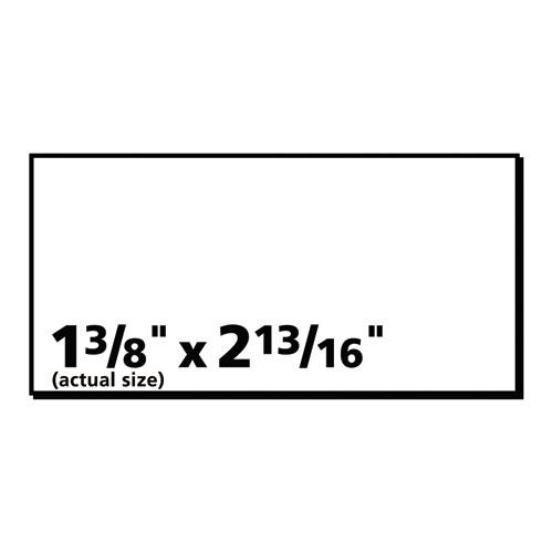 copier address labels 1 3 8 x 2 13 16 white 2400 box