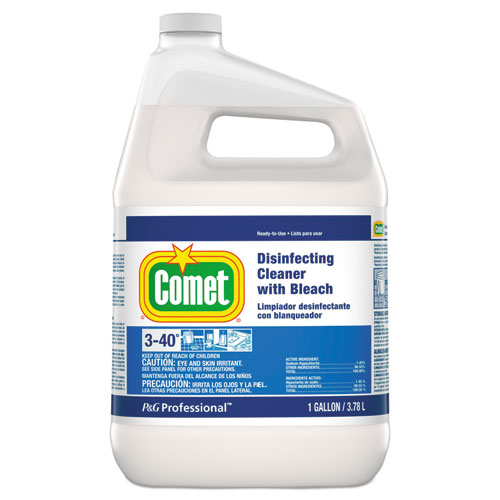 Disinfecting Cleaner with Bleach, 1 gal Bottle