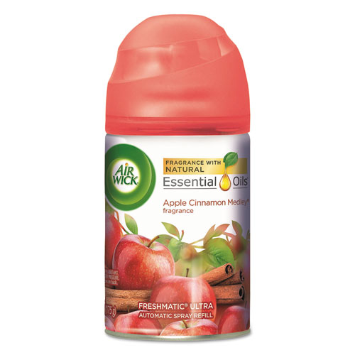Freshmatic Ultra Automatic Spray Refill, Apple Cinnamon Medley, Aerosol, 5.89 oz | by Plexsupply