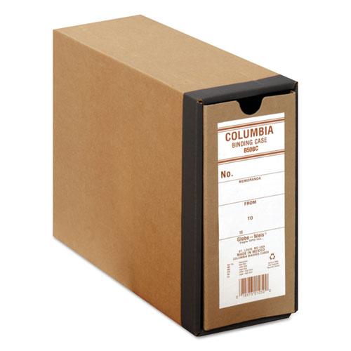 "COLUMBIA Recycled Binding Cases, 2 Rings, 2.5"" Capacity, 11 x 8.5, Kraft | by Plexsupply"