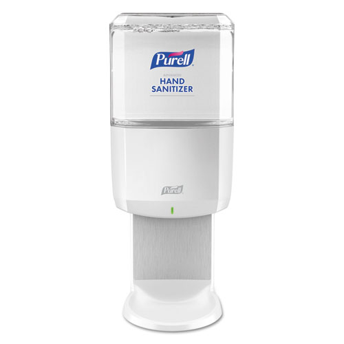 PURELL® ES6 Touch Free Hand Sanitizer Dispenser, Plastic, 1200 mL, White
