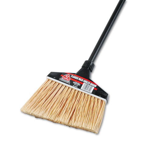 "Diversey O-Cedar MaxiPlus Professional Angle Broom with Flagged Bristles - 48"" Length Handle - 1 Eac DVO91351"