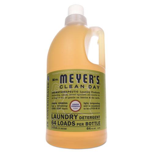 Mrs. Meyer's® Liquid Laundry Detergent, Lavender Scent, 64 oz Bottle, 6/Carton
