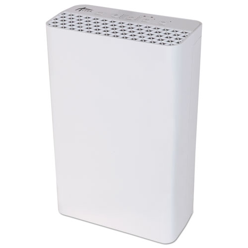 Alera® 3-Speed HEPA Air Purifier, 215 sq ft Room Capacity, White