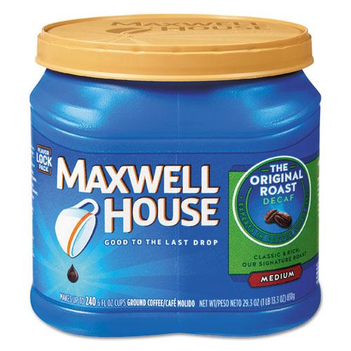Maxwell House® Coffee, Decaffeinated Ground Coffee, 29.3 oz Can