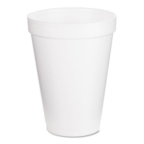 Drink Foam Cups, 12oz, 25/Pack 12J12BG