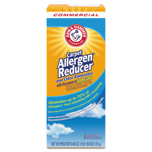 Carpet and Room Allergen Reducer and Odor Eliminator, 42.6 oz Shaker Box | by Plexsupply