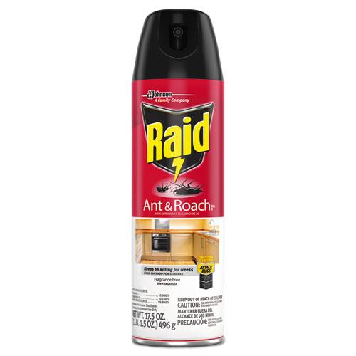 Fragrance Free Ant  Roach Killer, 17.5 oz Aerosol Can, 12/Carton