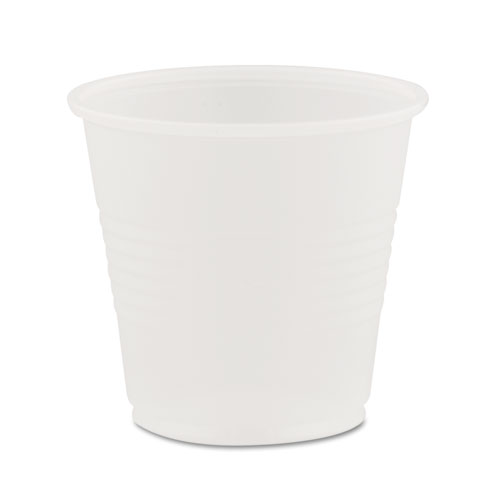 Conex Galaxy Polystyrene Plastic Cold Cups, 3.5oz, 100 Sleeve, 25 Sleeves/Carton Y35