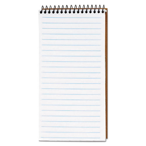 Second Nature Recycled Notebooks, Gregg Rule, 4 x 8, White, 70 Sheets   by Plexsupply