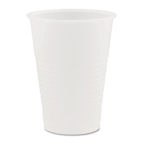 Conex Galaxy Polystyrene Plastic Cold Cups, 7 oz, 100 Sleeve, 25 Sleeves/Carton Y7