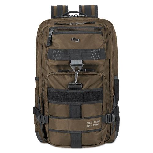 Altitude Backpack, 12.37 x 18.25 x 18.25, Nylon, Bronze