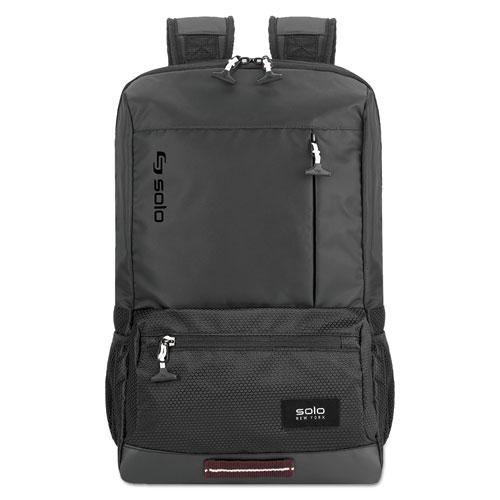 Draft Backpack, 6.25 x 18.12 x 18.12, Nylon, Black