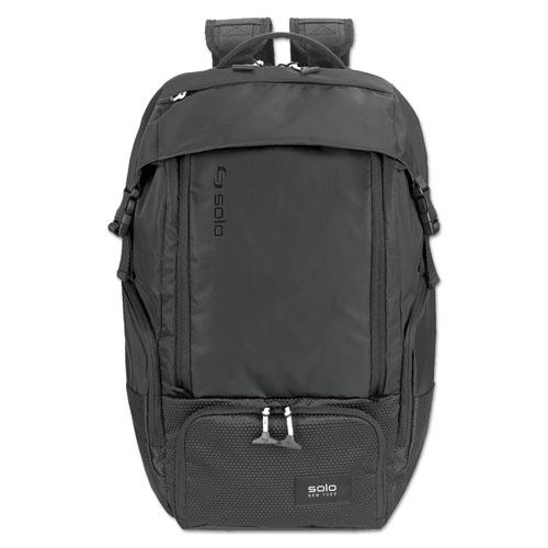 Elite Backpack, 5.25 x 21.5 x 21.5, Nylon, Black