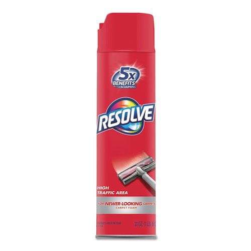 RESOLVE® Foam Carpet Cleaner, Foam, 22 oz, Aerosol Can