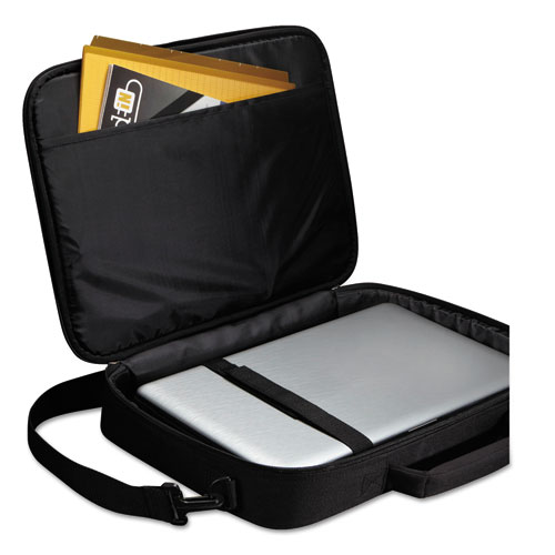 """Primary 17"""" Laptop Clamshell Case, 18.5"""" x 3.5"""" x 15.7"""", Black"""