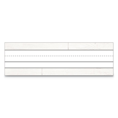 Nameplates, 9 1/2 w x 2.88 h, White, 36/Pack