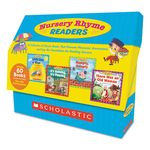 Nursery Rhyme Readers, Phonics Reading, Grades Pre K-1, 8 Pages/Book