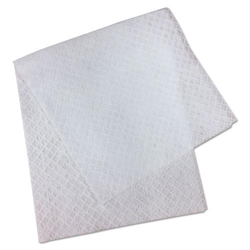 "TrustMedical L3 Quarter-Fold Wipes, 3-Ply, 7"" x 6"", White, 60 Towels/PK"