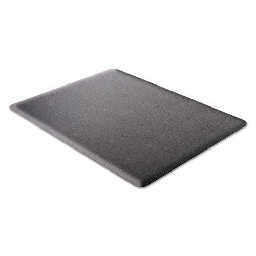 Ergonomic Sit Stand Mat, 53 x 45, Black