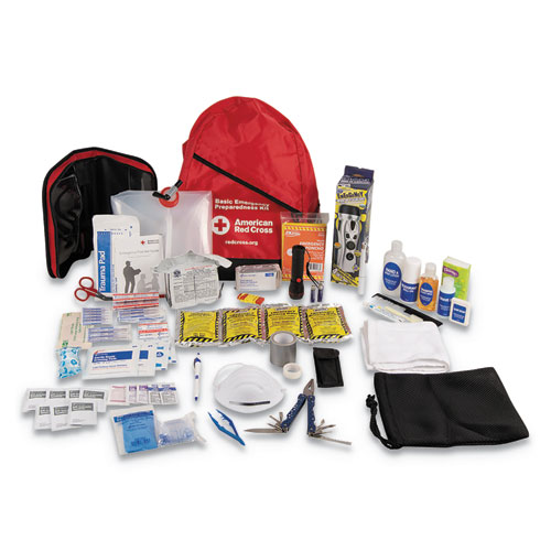 Bulk ANSI 2015 Compliant First Aid Kit, 211 Pieces, Plastic Case