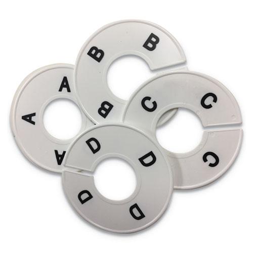 Alphabetized Hanging Dividers, 3 /12, White